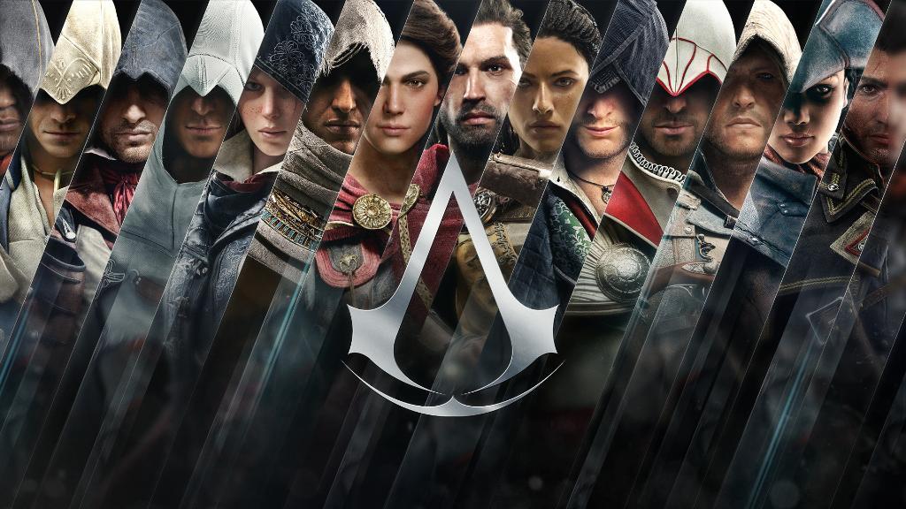 фото всех персонажей из игры ассасин нас
