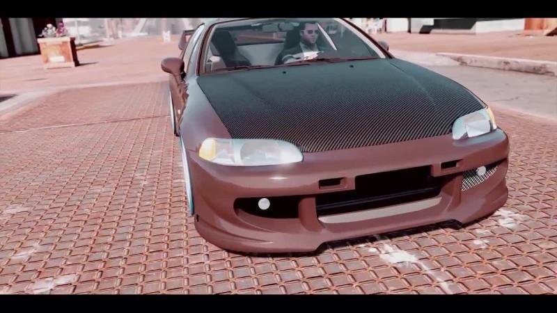 [РОЛИК] GTA 5 - Honda Civic Delsol