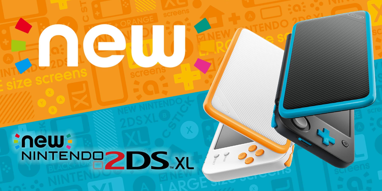 Nintendo анонсирует новейшую портативную игровую консоль 2DSXL