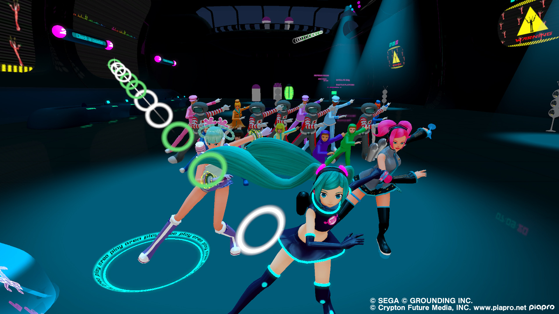 Дополнение 'Space 39 Miku Pack' для Space Channel 5 VR: Kinda Funky News Flash! выйдет в июле