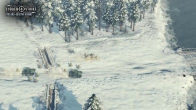 Sudden Strike 4 - релиз DLC Finland: Winter Storm