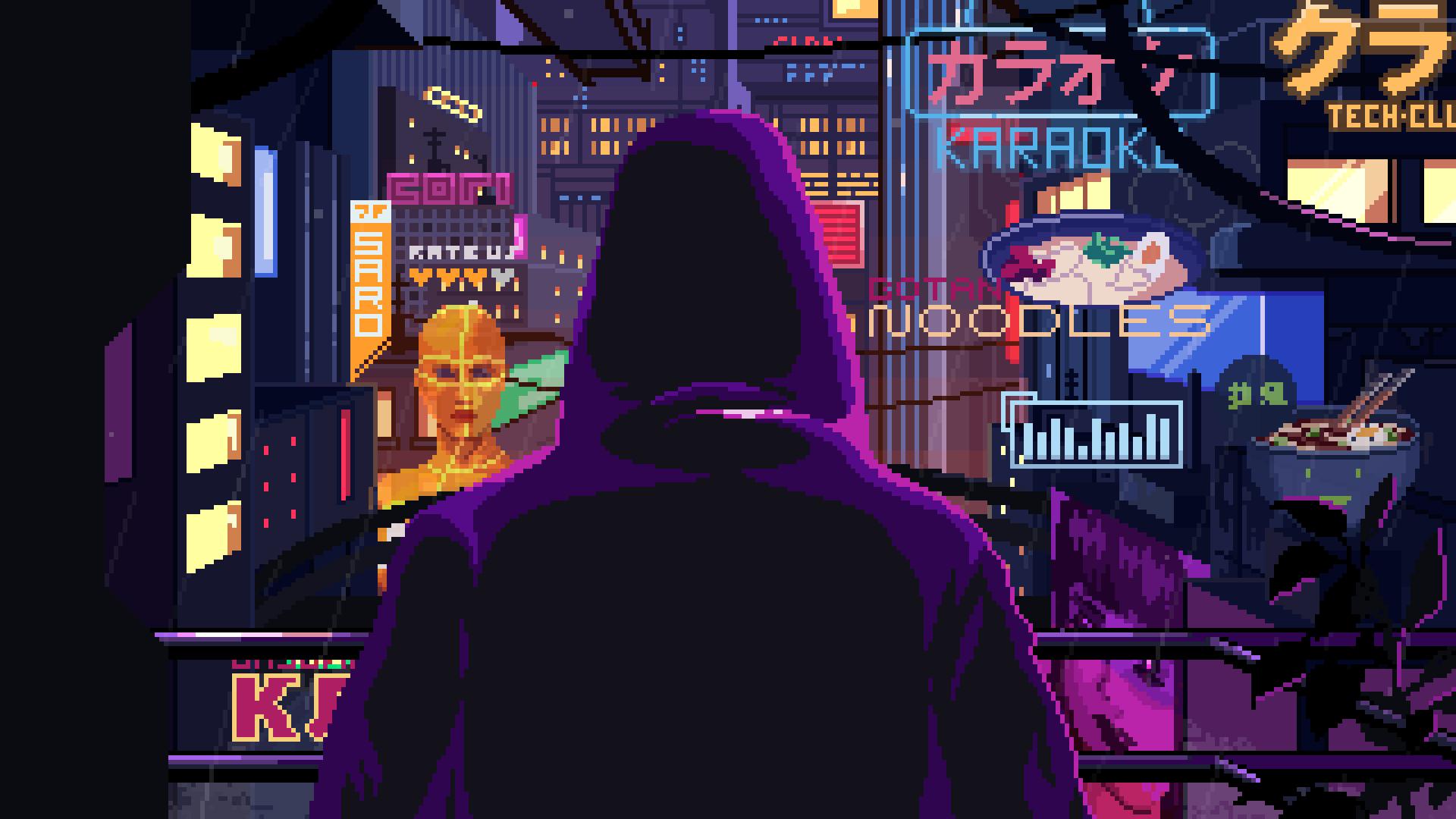 Мрачное будущее под атмосферный синт-метал в трейлере киберпанк-приключения VirtuaVerse