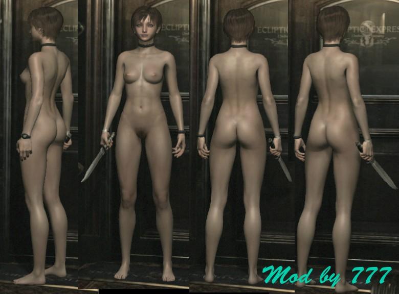 Голая Ребекка Чемберс, nude-патч для Resident Evil 0 HD Remaster