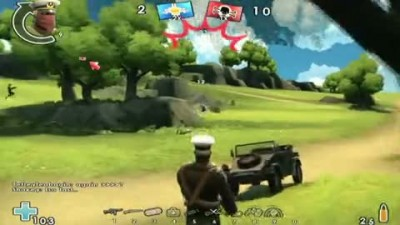 "Battlefield Heroes ""Cartoon Combat Cam Gameplay"""