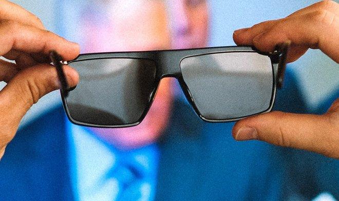 Очки, которые защищают от рекламных вывесок и прочих экранов, прогремели на Kickstarter