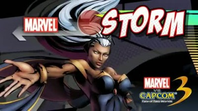 "Marvel vs. Capcom 3: Fate of Two Worlds ""Геймплей Storm"""