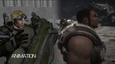 "Gears of War: Ultimate Edition ""Трейлер «Персонажи»"""