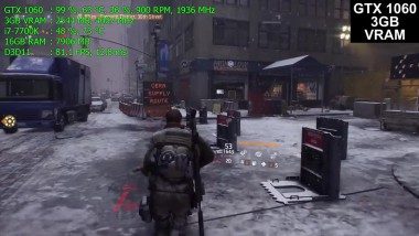 The Division - RX 570 - 580 vs GTX 1060 3GB/6GB