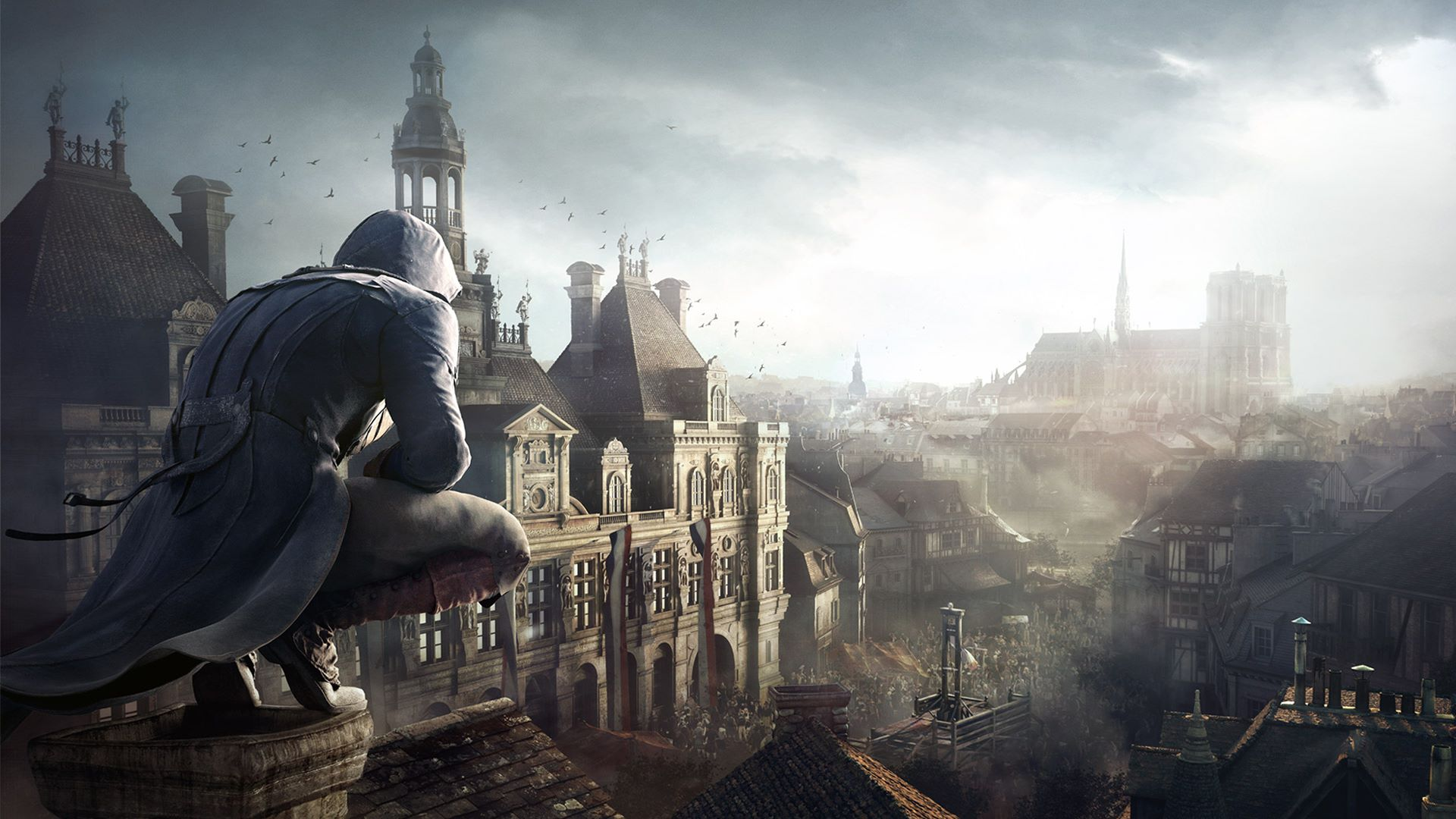 Ubisoft бесплатно раздают Assassin's Creed: Unity