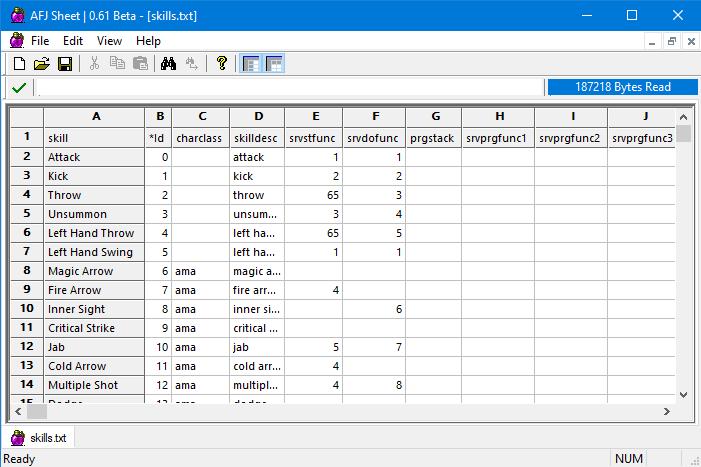 Удобная утилита для редактирования .txt файлов, например в папке excel игрового архива. Тут как раз располагаются все характеристики, настройки, пути-направления, логистика для игровых ресурсов, взаимодействие скиллов, механик, героев, Ai, монстров, карт и так далее и тому подобное, в общем математика и функции.