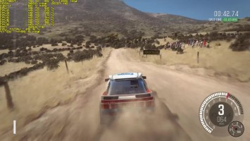 "DiRT ""Геймплей 4Argolis, Greece GroupB Ford RS 200"""