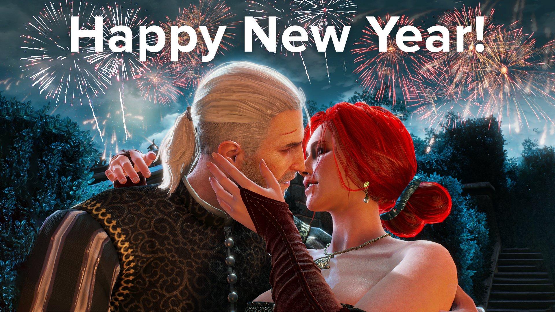 CD Projekt Red поздравили всех с Новым Годом, но разозлили фанатов Йеннифэр