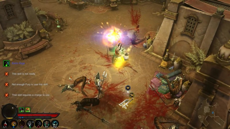 Digital Foundry о работе Diablo 3 на PS4 Pro