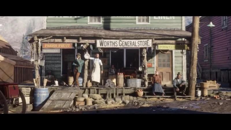 Red Dead Redemption 2 - Основные подробности новой игры от ROCKSTAR