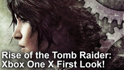 Rise of the Tomb Raider - Xbox One X против PS4 Pro