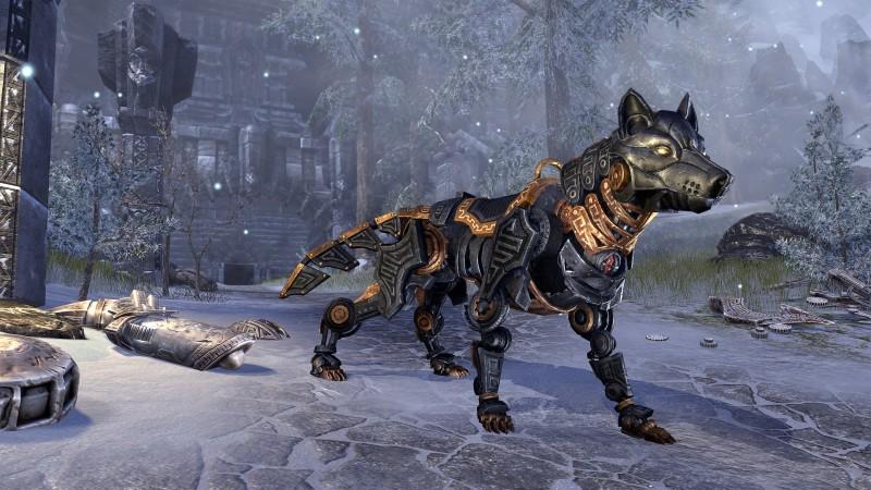 Двемерский эбонитовый волк
