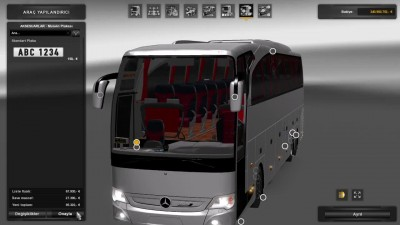 "ETS 2 ""Автобус Mercedes-Benz Travego Special Edition v4.5"""