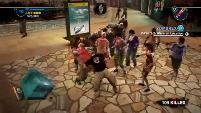 "Dead Rising 2 ""Weapons Everywhere Gameplay"""