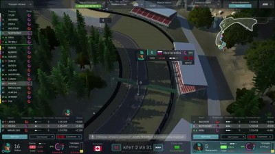 Motorsport Manager PC. Режим карьеры 2 сезон, гонка 10.
