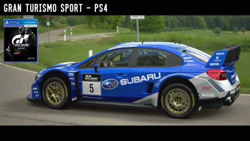 NFS Payback VS GT Sport VS Forza Horizon 3 - SUBARU RALLY БИТВА