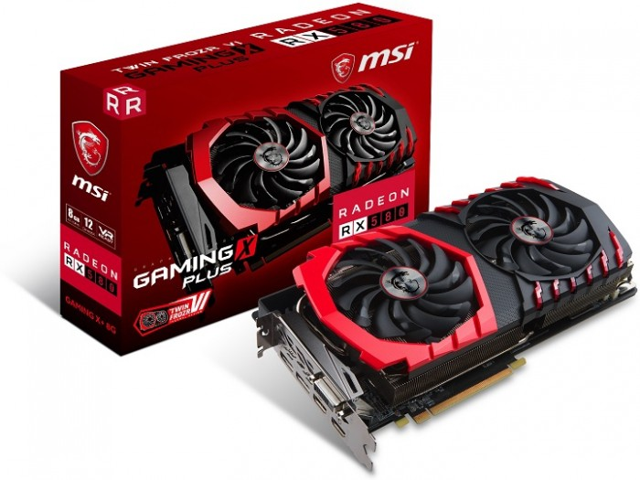 MSI Radeon RX 580 Gaming X Plus