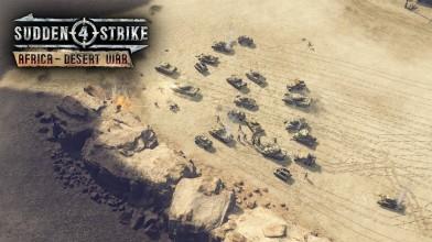 Вышло дополнение Africa - Desert War для Sudden Strike 4