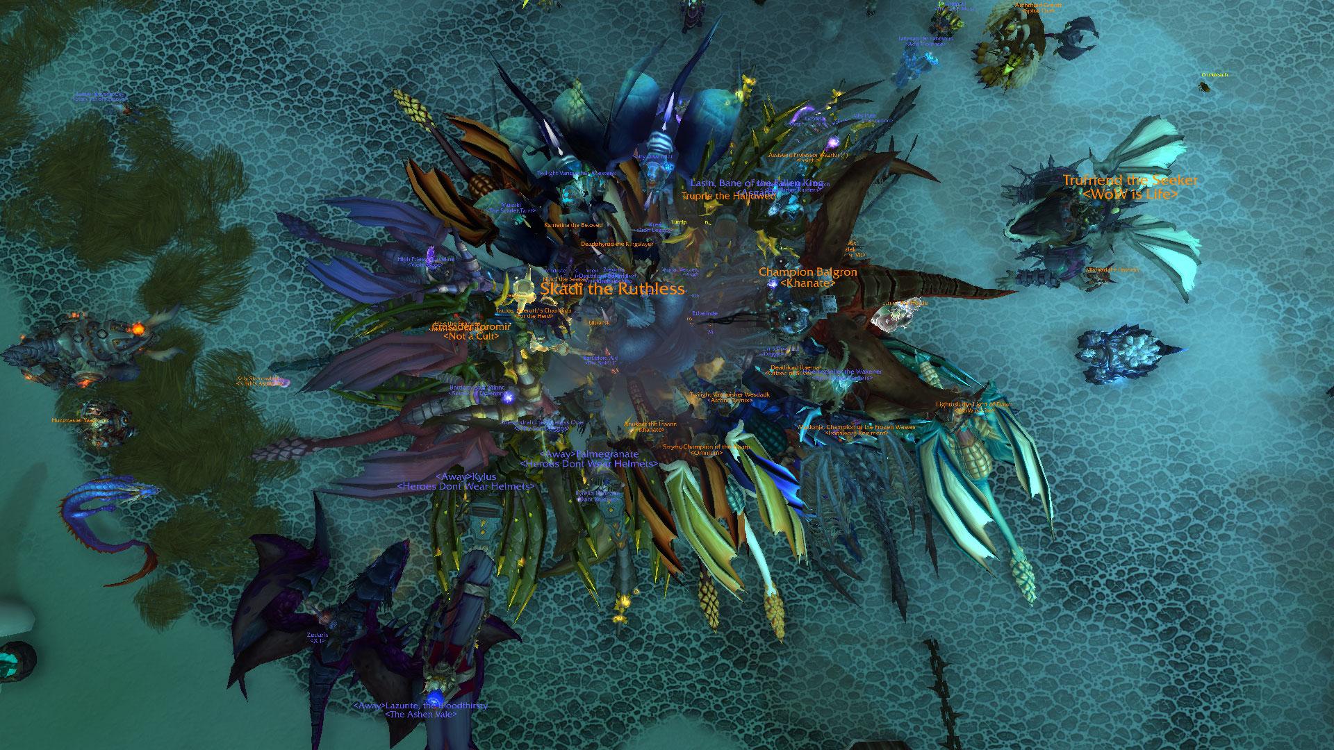 Игроки в World of Warcraft устраивают флешмобы из-за долгого возрождения монстров в препатче Shadowlands