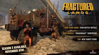 Глобальное обновление и старт нового сезона в Fractured Lands!