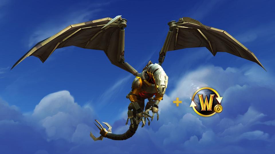Новый транспорт 'Паровой испепелитель' в награду за подписку на 6 месяцев в World of Warcraft