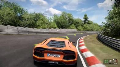 Project CARS 2 - Lamborghini Aventador - Nrburgring Тест Драйв