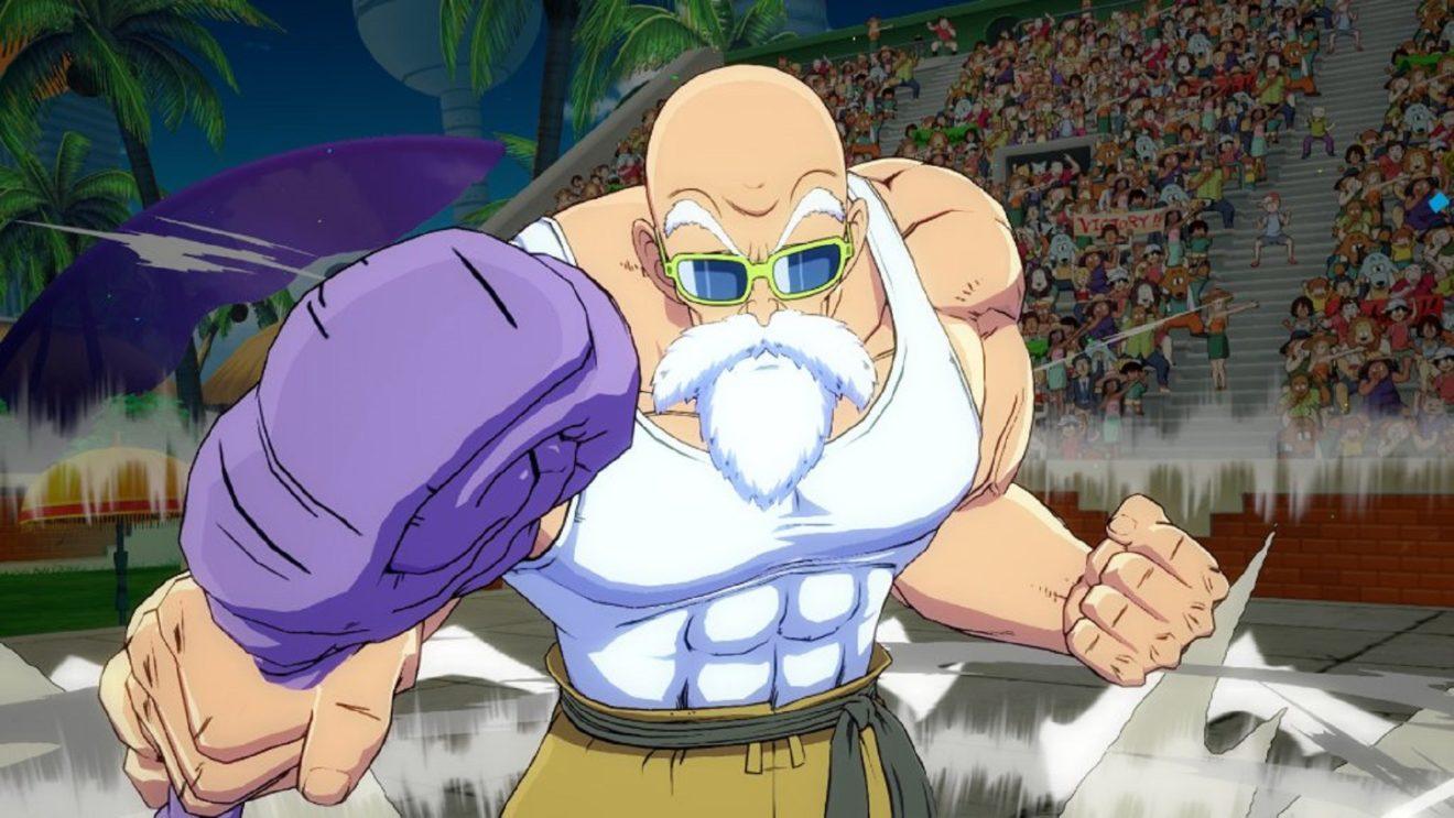 Мастер Роши присоединится к составу Dragon Ball FighterZ на следующей неделе