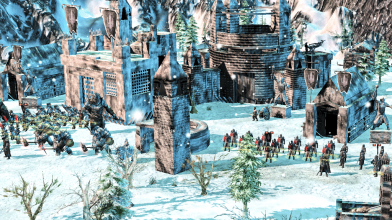 The Last Hope of the Third Age mod - обновленный Ангмар (постройки)