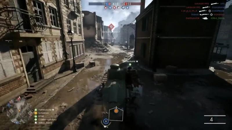 Battlefield 1 - переправа через сену!? (BF1)