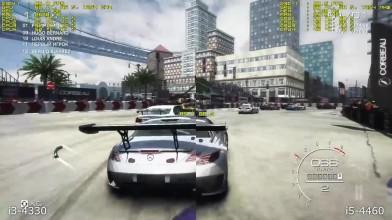 i3 4330 vs i5 4460 в GRID Autosport