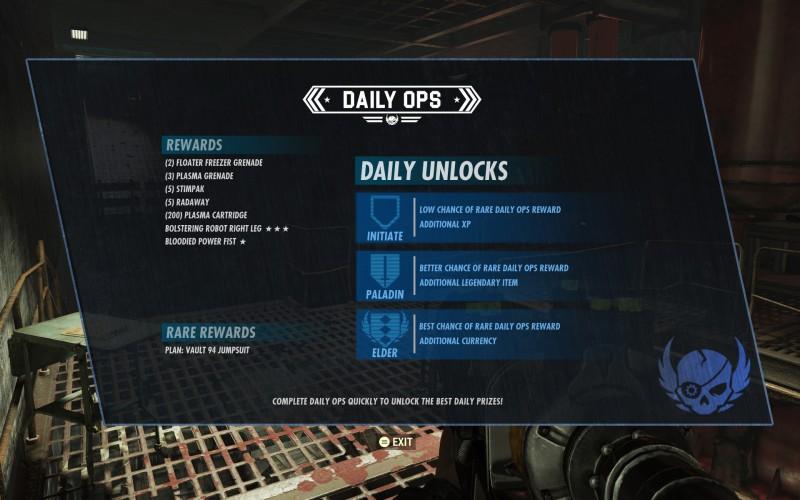 Fallout 76: Вести из убежища - подробности еженедельных испытаний