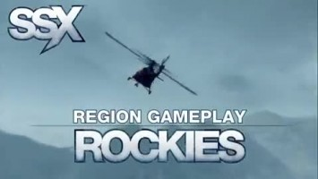 "SSX ""Region Gameplay - Rockies"""
