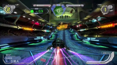 WipEout Omega Collection - новый геймплей с PS4Pro