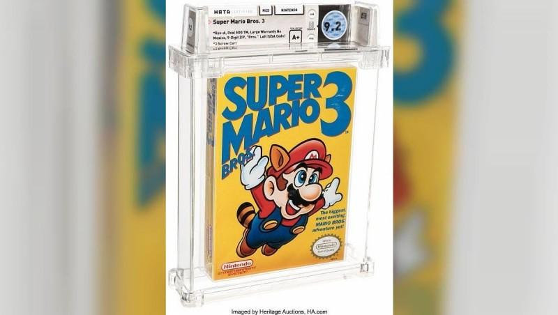 """Старую игру """"Марио"""" для Nintendo продали за рекордные 12 млн рублей"""