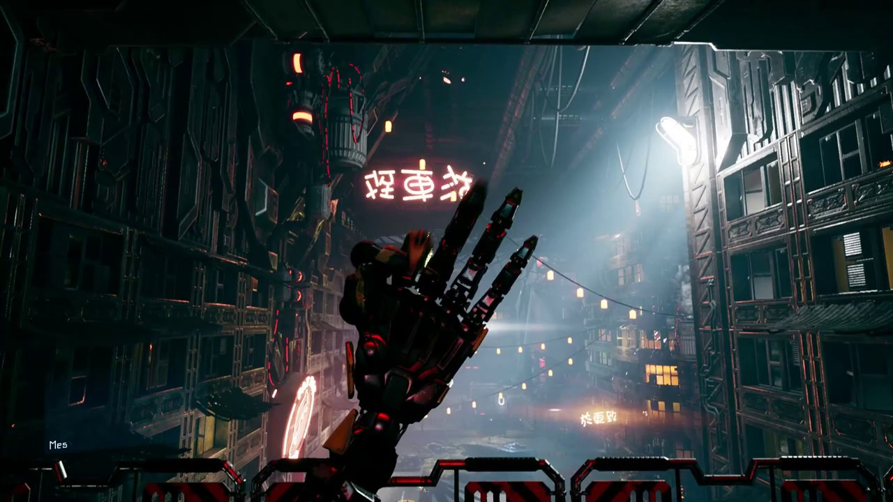 Ghostrunner с трассировкой лучей, сравнение скриншотов на максимальных настройках