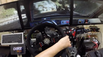 "DiRT RALLY ""Triple monitor test play"""