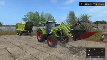 Мод трактора CLAAS ARION 650 для игры Farming Simulator 17
