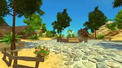 "Paradise Island ""Геймплей VR MMO"""