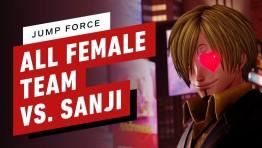 Sanji в Jump Force не может бить женщин
