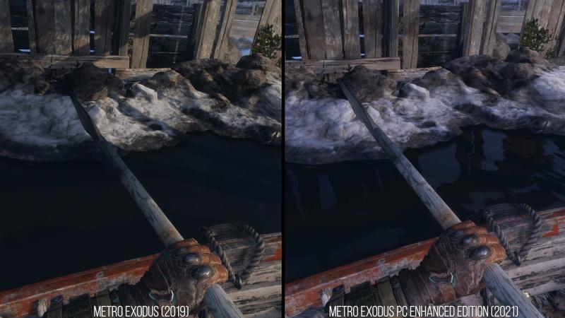 Подробности и сравнения обновлённой версии Metro: Exodus