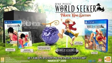 Западный релиз One Piece: World Seeker состоится 15 марта 2019