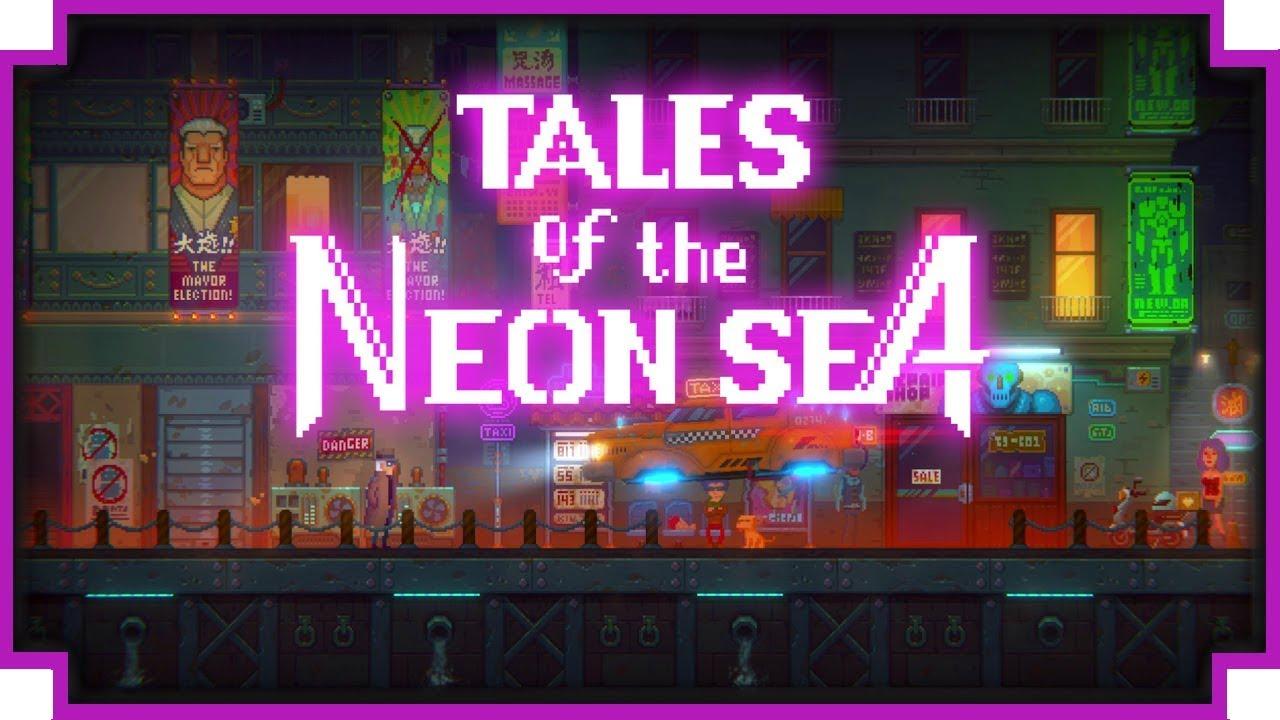 Детективная киберпанк-адвенчура Tales of the Neon Sea выйдет 30 апреля