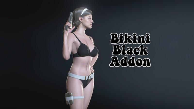 Чёрное бикини