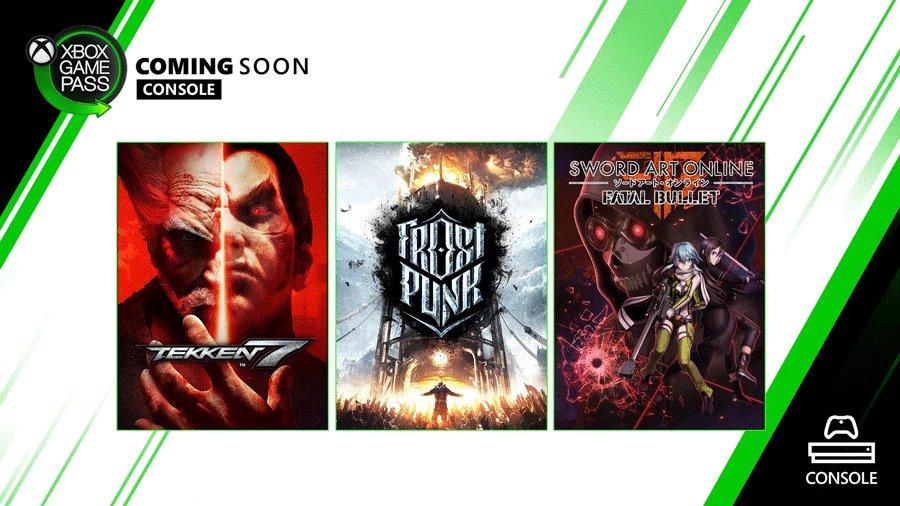 Tekken 7 и Frostpunk появятся в Xbox Game Pass