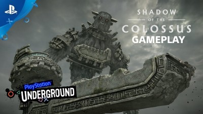 14 минут гейплея Shadow of the Colossus