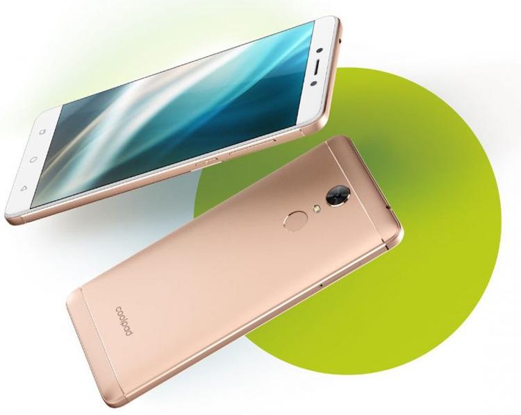 Coolpad представила новый смартфон Note 5 Lite C
